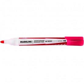 MARKER WHITEBOARD MARKLINE, ROSU MW100RED – LINC
