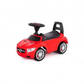 Masinuta - Supercar, rosie, fara pedale, 66x28.5x30 cm, Polesie