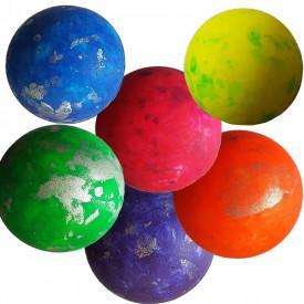 Minge Springball Sprenkel, 70mm, Juwa