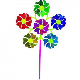 Morisca de vant, 6 flori