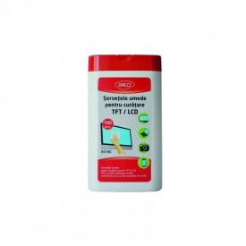 SERVETELE UMEDE DACO PENTRU CURATARE TFT/LCD SV100