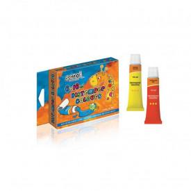 Tempera 16 ml, 6 culori/set - S-COOL