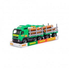 Trailer+remorca+lemne - Volvo PowerTruck, 77x19x25 cm, Wader