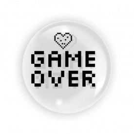 Balon transparent 45 cm - Game Over - TUBAN