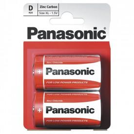 BATERII PANASONIC R20 RED ZINC