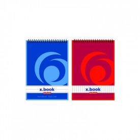 Bloc notes A7 50f spirala X-BOOK DR