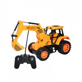 Excavator cu RC, AC, 26x13x16 cm