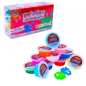Gelatina nazdravana (slime), 12 buc/set - ROBENTOYS