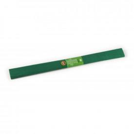Hartie creponata, 200x50cm, Verde Inchis, 10buc/set - Koh-I-Noor