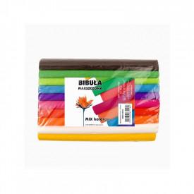 Hartie creponata Mini 10 culori/set, 25x200 cm - STARPAK