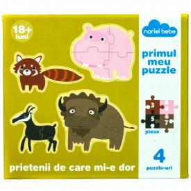 Joc Primul Meu Puzzle-Prietenii De Care Mi-e Dor Noriel
