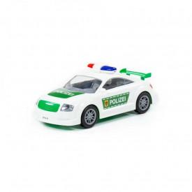 Masina politie, cu frictiune, 26x11x10cm, Polesie