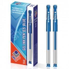 Pix cu gel/mina albastra, 12 buc/set - OFFISHOP