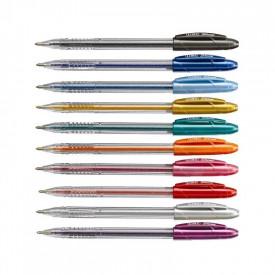 Pix cu gel si sclipici Shine set 10 culori 1mm - LINC