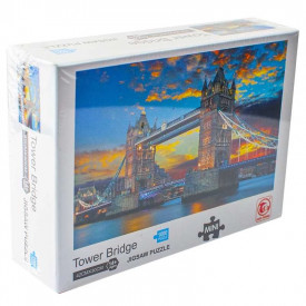 Puzzle carton mini, Tower Bridge, 1000 piese