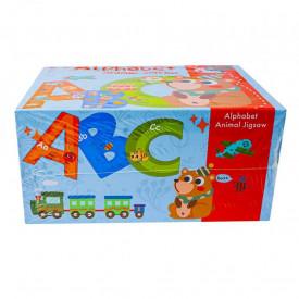 Puzzle din lemn, Alfabet