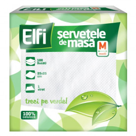 SERVETELE DE MASA ELFI 25 x 25CM