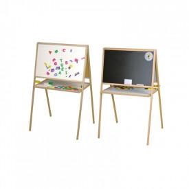 Tablita magnetica/2 fete/106 cm + suport + accesorii - Tupiko
