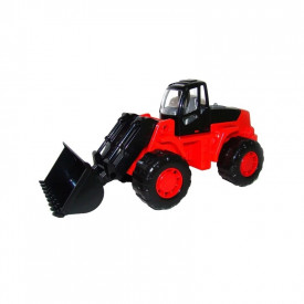 Tractor cu incarcator - Craft, 25x10x11 cm, Polesie