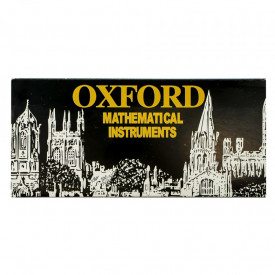 Trusa geometrie metalica, 13 piese, Oxford