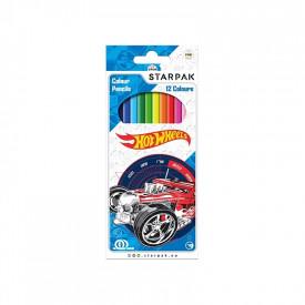 Creioane color - Hot Wheels 12 culori|set - STARPAK