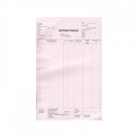 Facturier A4, 100 file, autocopiativ, 3 exemplare
