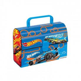 Gentuta cu maner din carton - Hot Wheels 20x14,5x8 cm - STARPA