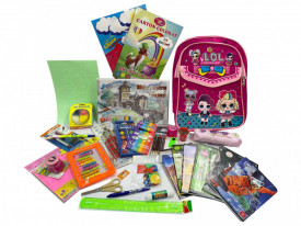 Ghiozdan echipat pentru fete Lol, clasele 1-2, 28 produse,