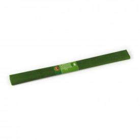 Hartie creponata, 200x50cm, Verde Olive, 10 buc/set - Koh-I-Noor