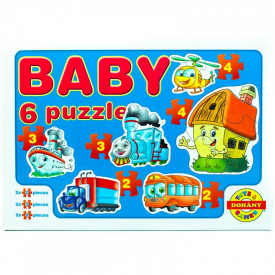 Joc puzzle 18 piese Baby Puzzle Dohany