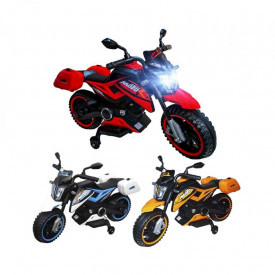 Motocicleta cu acumulator, 1 motor, 12V, 4A