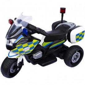 Motocicleta cu acumulator, Politie, 1 motor, 6V, 4A