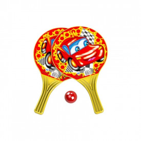 Palete beach ball + minge, 37,5x22,5 cm
