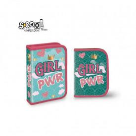 Penar echipat, 1 fermoar, 2 extensii, 32 piese, GIRL POWER - S- COOL