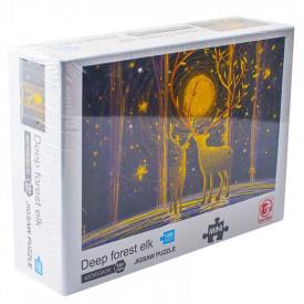 Puzzle carton mini, Elani, 1000 piese