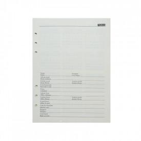 Rezerva agenda B5 100 file|set - NEBO