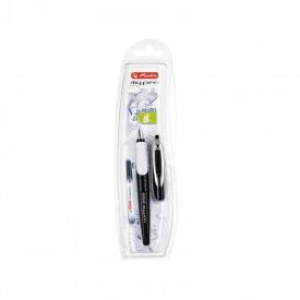 Stilou My.Pen penita L alb negru - blister