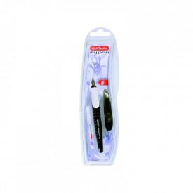 Stilou My.Pen penita L negru alb - blister