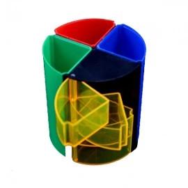 SUPORT BIROU PLASTIC COLOR 466