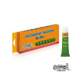 Tempera verde deschis, 16 ml, 10 buc/set - S-COOL