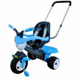 Tricicleta cu maner si accesorii., Comfort 3, 74x50x60 cm, Polesie