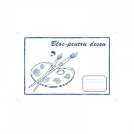 Bloc desen A4 12 file 80 g|mp