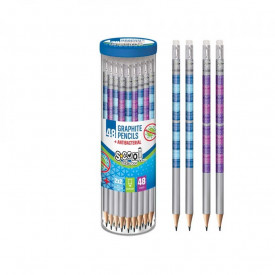 Creion grafit antibacterial, HB, tabla inmultirii - S-COOL