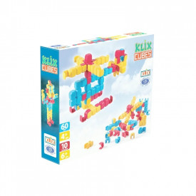 Joc constructii Klix Cubes, 60 piese/cutie