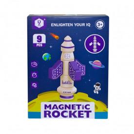 Joc constructii, racheta magnetica