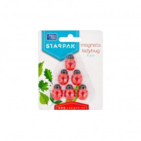 Magneti Buburuza, 6 buc/set - STARPAK
