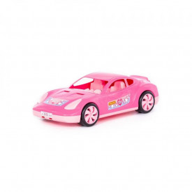 Masina de curse - Tornado, roz, 36,6x17,7x10,9 cm, Polesie