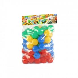 Mingiute plastic, 7 cm, 80 buc/set - Tupiko