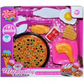 Pizza + accesorii, 1 set/cutie
