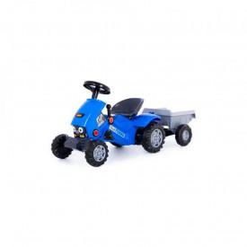 Tractor Turbo 2 cu pedale + remorca, 78x44x55 cm, Polesie